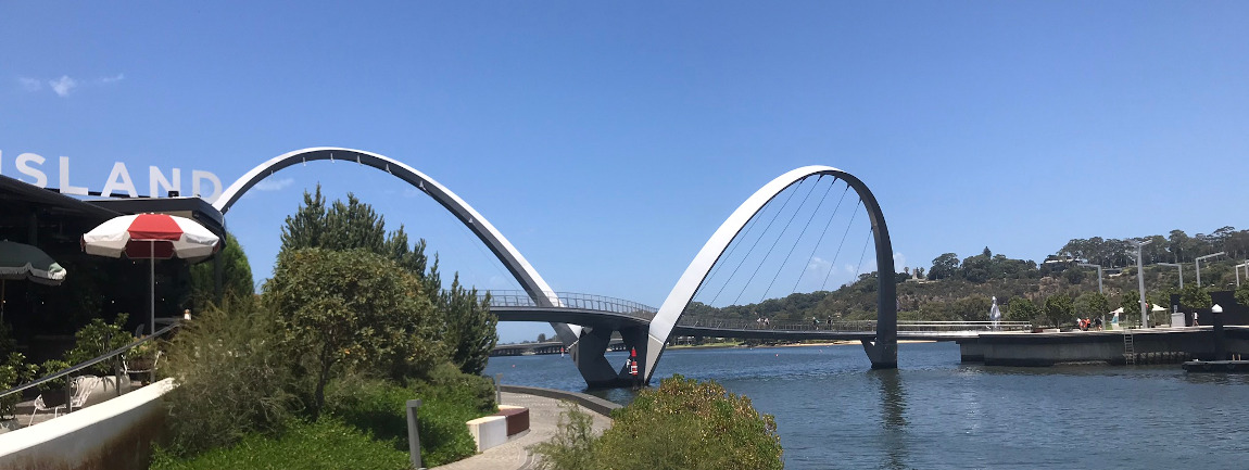 Elisabeth quay, Perth